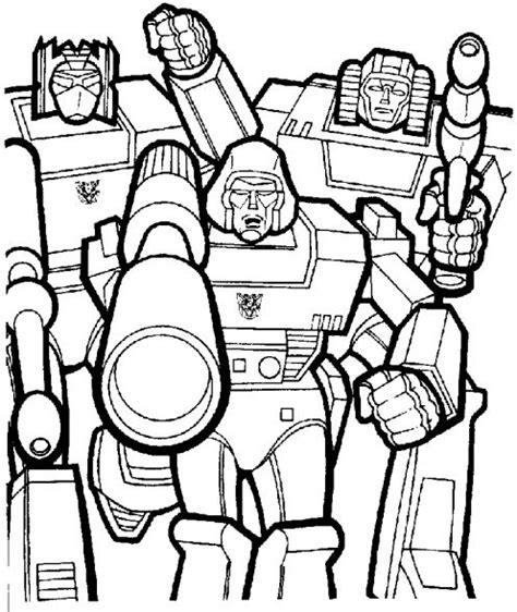 transformers characters pictures pages  print