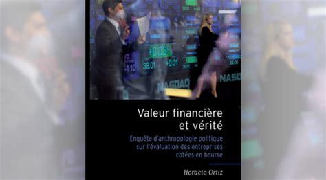 la finance  la verite des prix la vie des idees