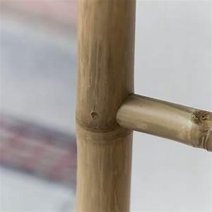 Porte Serviette En Bambou : tikamoon echelle porte serviette en bambou naturel ~ Nature-et-papiers.com Idées de Décoration