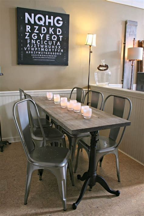 17 best ideas about narrow dining tables on