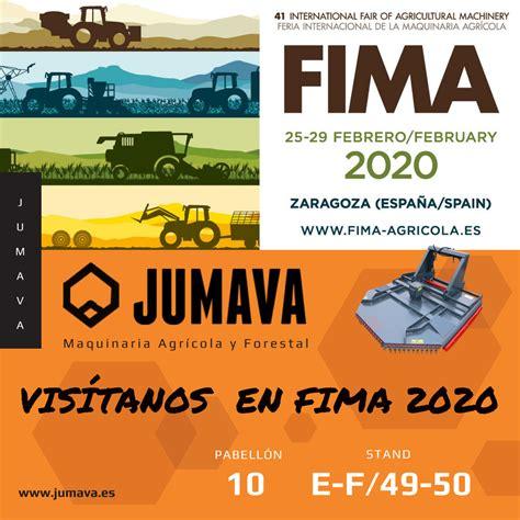 JUMAVA en FIMA 2020   Jumava