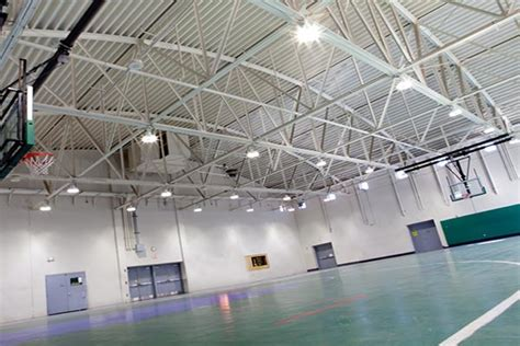 Led High Bay Application In Gym Lighting In Texas