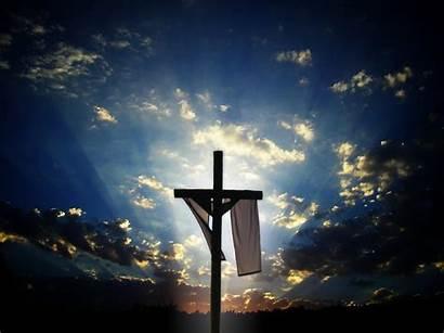 Risen He Jesus Christ Christian Cross God
