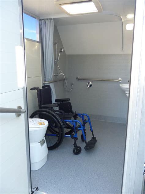 wheelchair accessible portable bathrooms  toilets nz