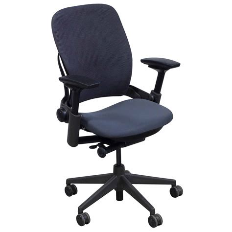 steelcase leap v2 used 3d mesh task chair gray national