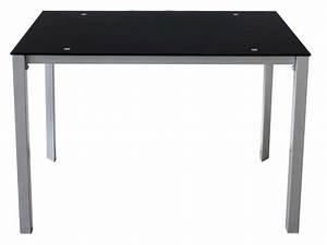 Table En Verre Rectangulaire : table rectangulaire charlen vente de table conforama ~ Teatrodelosmanantiales.com Idées de Décoration