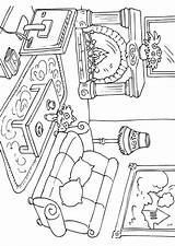 Coloring Living Pages Drawings Printable Adult Sheets Edupics Getcolorings sketch template