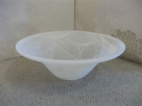 Floor L Glass Shade Bowl by 40cm White Bowl Replacement Glass Shade For Uplighter L