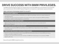 BMW Malaysia introduces special ownership programmes for