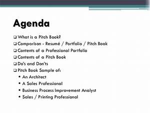 pitch book presentation With sales pitch book template