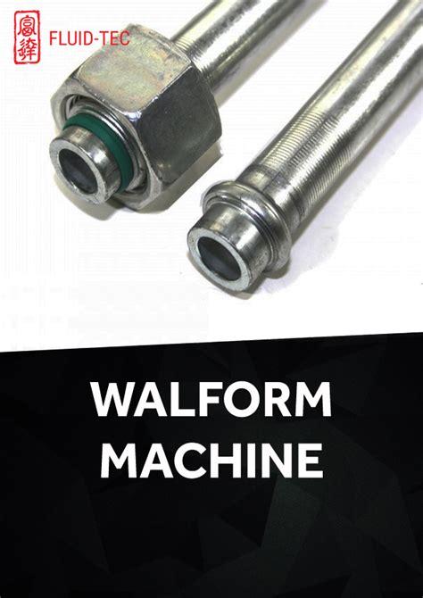 walform machine fluid tec hydraulic hose thermoplastic hose water blasting hose