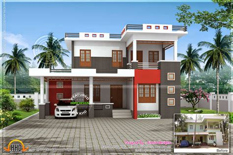 house models and plans renovation 3d model for an old house kerala home design and floor plans