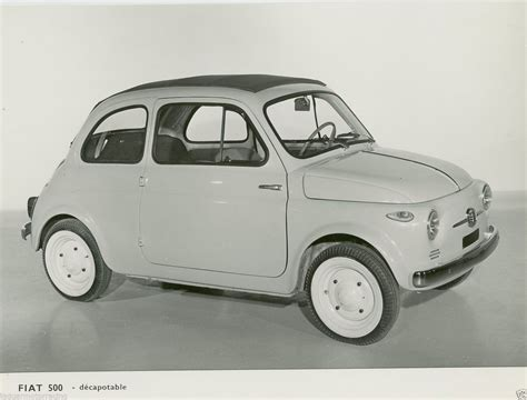 Fiat Car Accessories by Fiat 500 1960s Original Press Photograph In Vehicle Parts