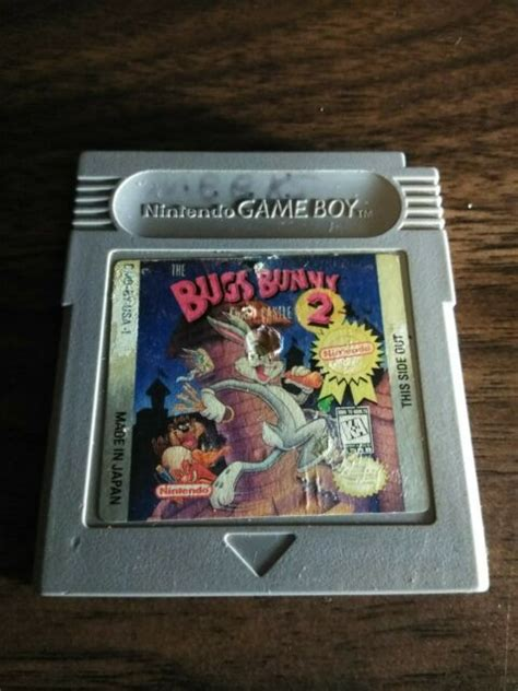Bugs Bunny Crazy Castle 2 (Nintendo Game Boy, 1991) | eBay