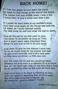 Back home - poem | Memories of Yesterday | Pinterest ...