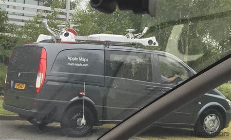 Apple Maps Vehicles Begin Surveying England, Coming To New