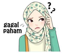 stiker muslim images  sticker hijab
