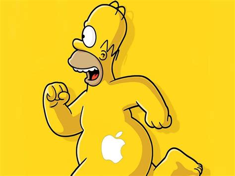 The Simpsons Apple Wallpapers Wallpaper Cave