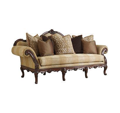 Henredon Settee by Florence Sofa From The Henredon Upholstery Collection By