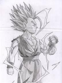 Cool DBZ Drawings Gohan