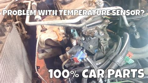 How to Change Replace Coolant Water Temperature Sensor ...