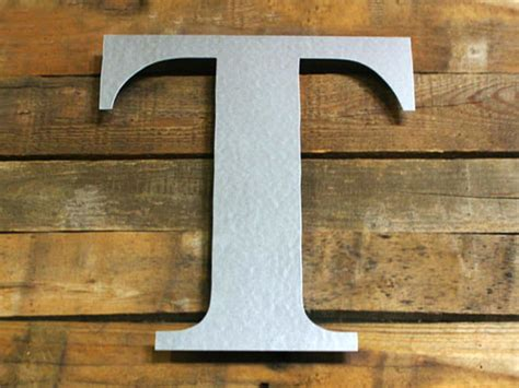 galvanized metal letters  crafts craftcutscom