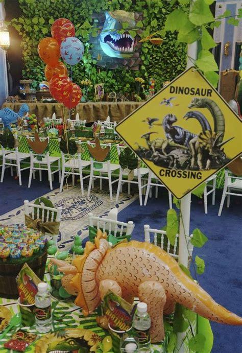 Jurassic Park Decorations - dinosaurs birthday ideas baby dinosaur birthday