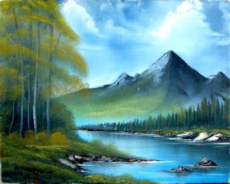 Mountain Scene By Jr-burgos On Deviantart