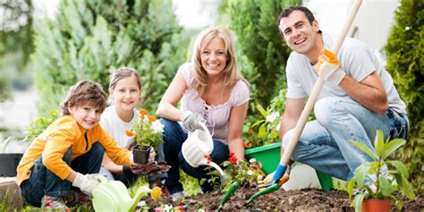 Garden Family by 13 Budgeting Ideas For Families
