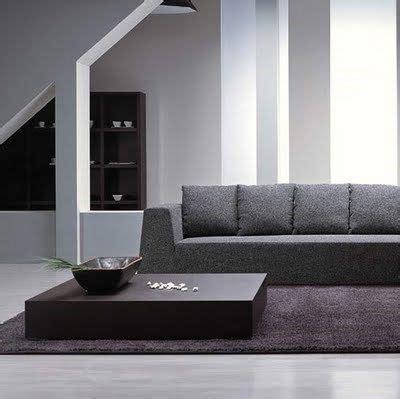 mesa minimalista  el living casa web