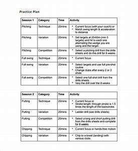Practice schedule templates 12 free sample example for Football practice plan template
