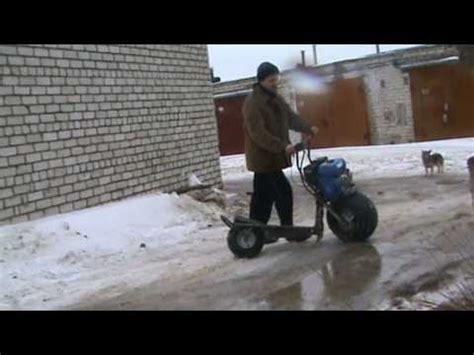 электросамокат из болгарки
