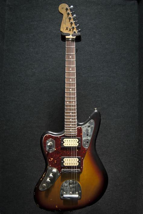 Fender Kurt Cobain Signature Jaguar Sunburst Left Handed