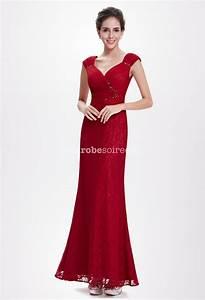 robe de soiree rouge au bustier de sirene With floryday robes de soirée