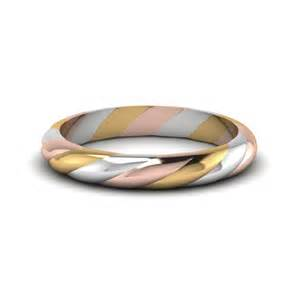 gold and white gold wedding rings tri tone twisted rope wedding band in 14k white gold fascinating diamonds