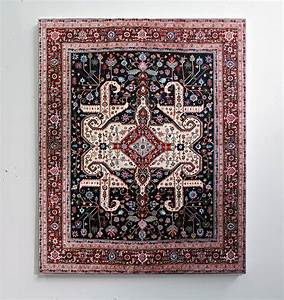 Elaborate hand painted persian carpets by jason seife for Elaborate hand painted persian carpets by jason seife