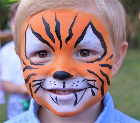 motive tiger kinderschminken jungen motive tiger make up costumes