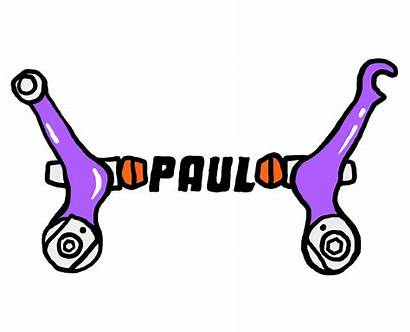 Paul Component Engineering Touring Brakes Sticker Cantilever