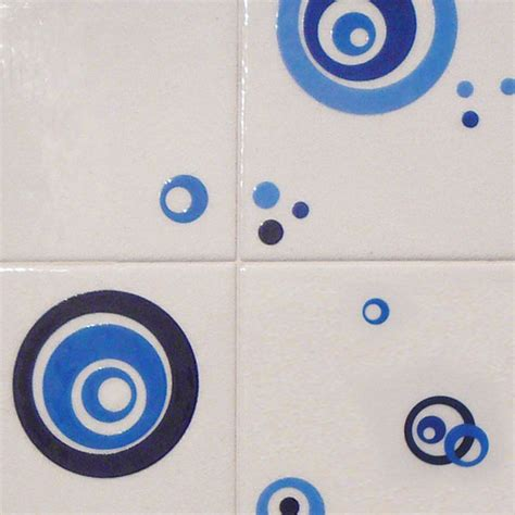 35 blue bathroom tile stickers ideas and pictures