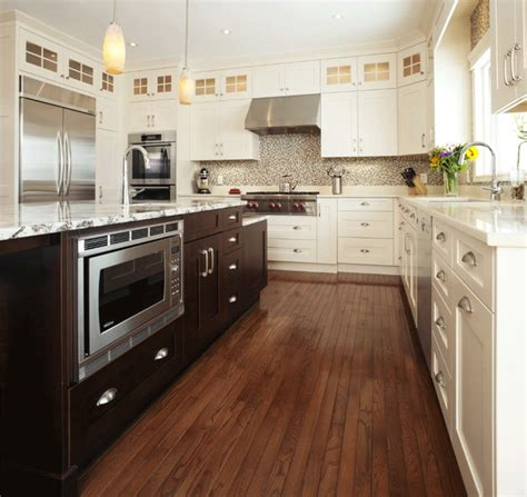 antique white transitional style kitchen modern