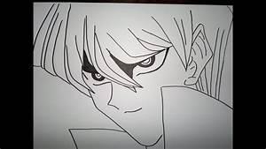 Drawing Seto Kaiba  U702c U6238 U30ab U30a4 U30d0 U3092 U63cf U753b U3059 U308b U65b9 U6cd5