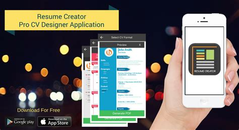 Resume Creator Mobile by It Mobile App Development India Offshore Web