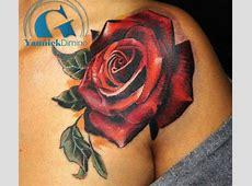 Tatouage Epaule Rose Homme Tattoo Art