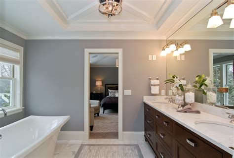sumptuous fog luggage in bathroom transitional with
