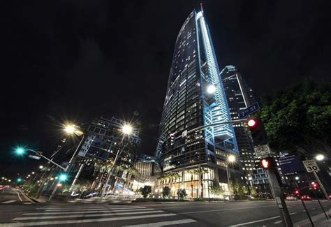 intercontinental los angeles downtown hotel opens