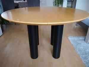 Holztisch Rund Ausziehbar : runde tischplatte neu und gebraucht kaufen bei ~ Frokenaadalensverden.com Haus und Dekorationen