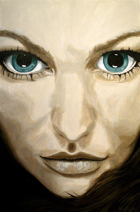 Close Up Portrait Paintings