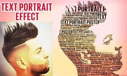 Text Photoshop Portrait Effect Tutorial Cs6 Dot