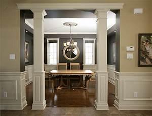 Square interior columns design ideas quotes for Decorative interior wall columns