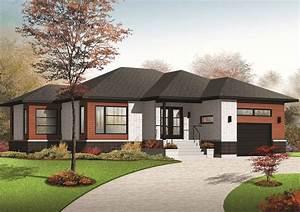 Comfortable Contemporary Ranch Home Plan
